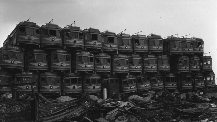 http://upload.wikimedia.org/wikipedia/commons/9/93/Junked_streetcars.jpg
