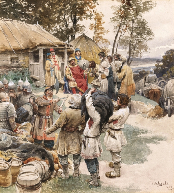 https://upload.wikimedia.org/wikipedia/commons/b/b9/Knyaz_Igor_in_945_by_Lebedev.jpg